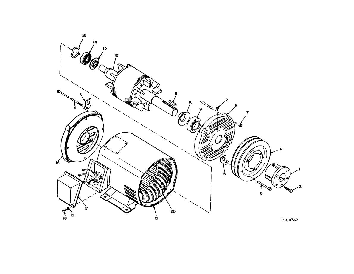 Figure 8-1. Electric Motor (Model RMP-J/11-10E)