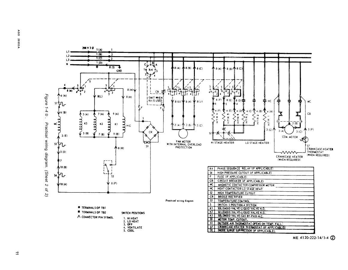 Figure 1-4 x . Practical wiring diagram.