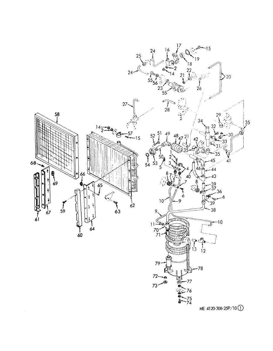 Figure 10.1. Evaporator Coil, Mist Eliminator, Valve and