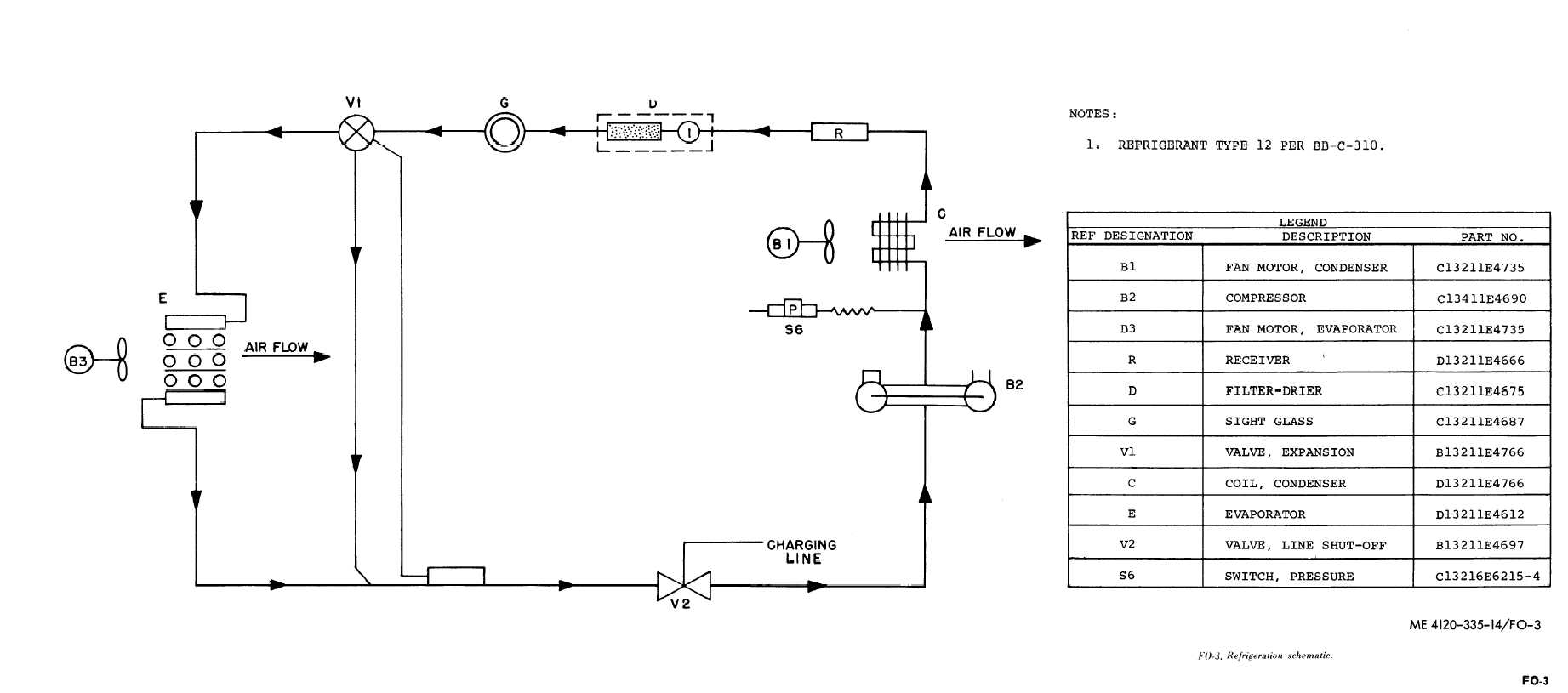 wiring diagram of refrigeration system 1756 if6i walk in cooler schematic get free image about