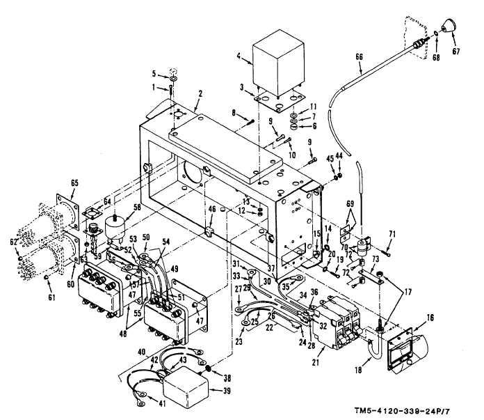 Figure 7. Junction Box, Relays, Circuit Breaker and Rectifier