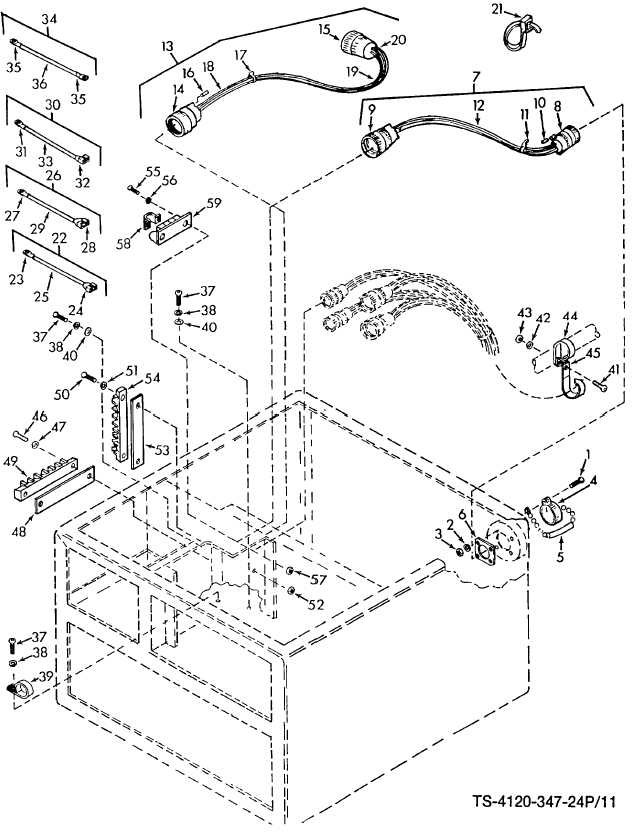 Figure 11. Wiring Harnesses and Terminal Boards