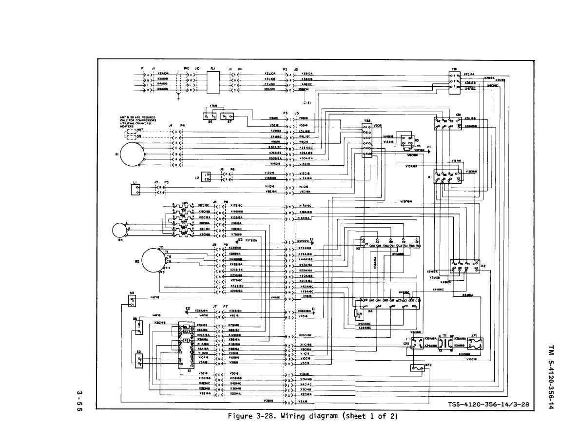 Figure 3-28. Wiring diagram (sheet 1 of 2)