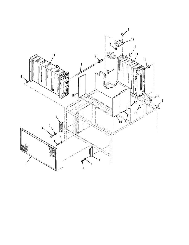 Figure 13.Mist Eliminator, Condenser and Evaporator Coils