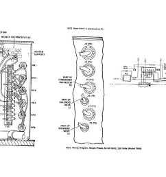 wiring diagram single phase 50 60 hertz 230 volts model f18h  [ 1685 x 986 Pixel ]