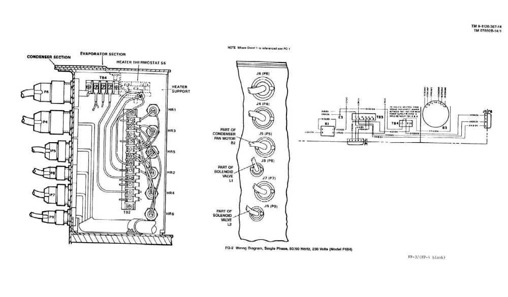 medium resolution of wiring diagram single phase 50 60 hertz 230 volts model f18h