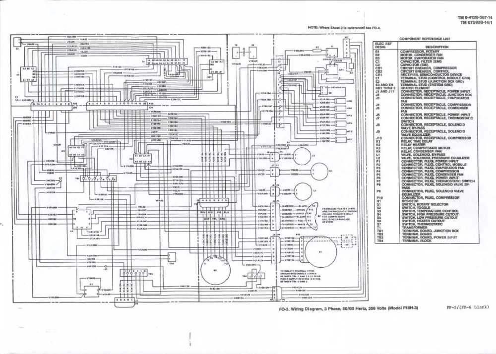 medium resolution of line wiring diagram 208 3 phase