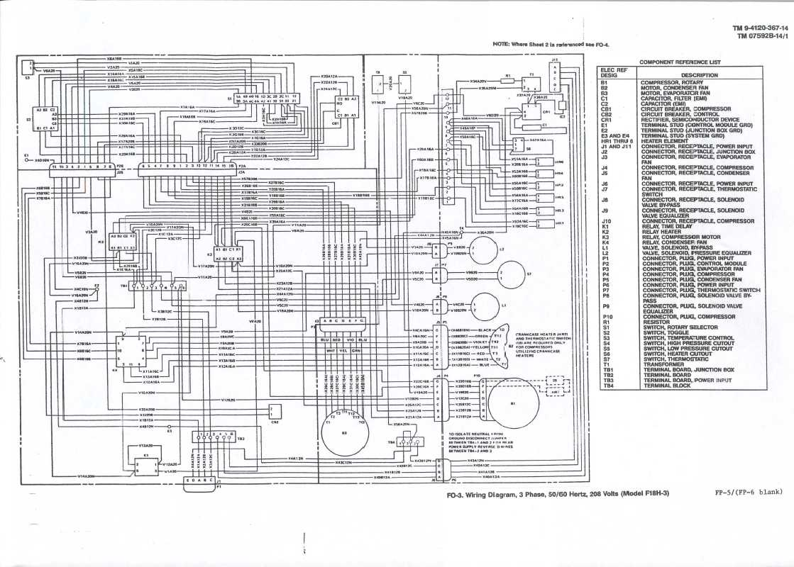 hight resolution of line wiring diagram 208 3 phase