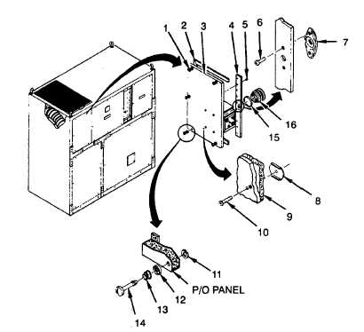 Figure 4-27. Left Front Evaporator Panel