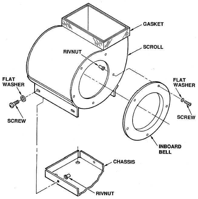 Figure 4-33. Evaporator Scrolls (LH and RH) Removal
