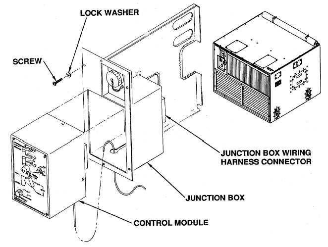 4-46. JUNCTION BOX REMOVAL/INSTALLATION