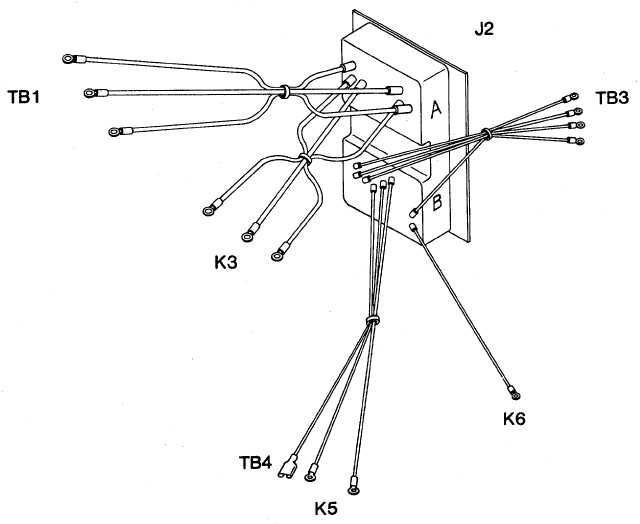 Figure 4-54. Junction Box Wiring Harness (Sheet 2 of 3)
