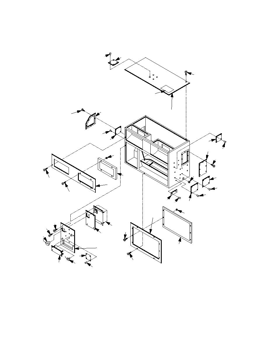 Figure F-2. Evaporator Assembly (Sheet 1 of 4)