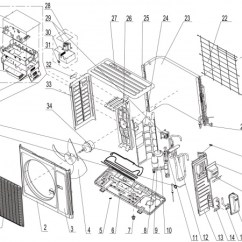 Air Conditioner Wiring Diagram Picture Oma A16ci4h4r36 - Technical Support Wiki