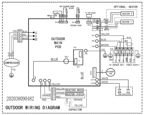 Daikin Ductless Heat Pump Wiring Diagram
