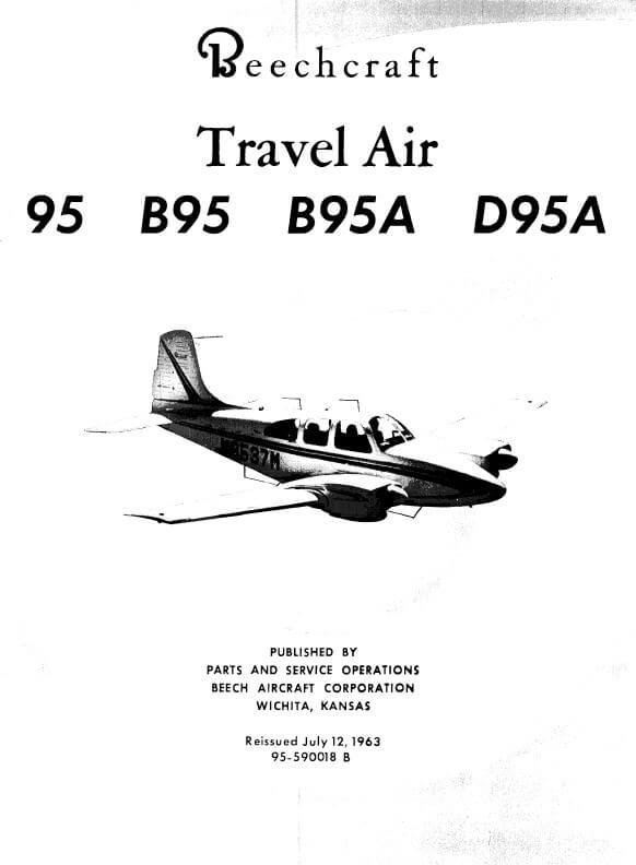 Beechcraft Travel Air MODEL 95 PARTS CATALOG