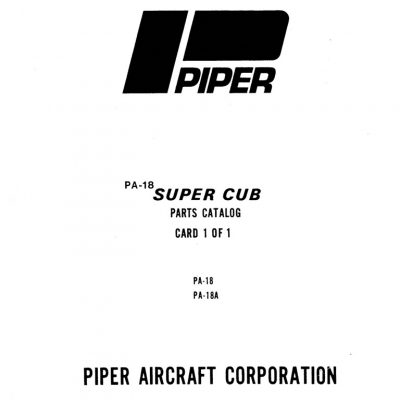 PIPER CHEROKEE PARTS CATALOG 753-582 PA-28 140 150 160 180