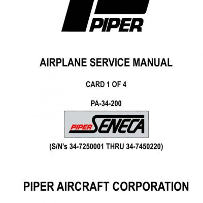 Cessna Model 210 Centurion 1969 Service Manual 1968
