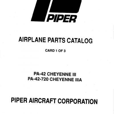 Continental Model E-165,E-185 & E225 Engine Parts Catalog