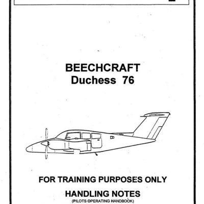 Beechcraft Bonanza F33A-F33C Acrobatic Pilot's Operating