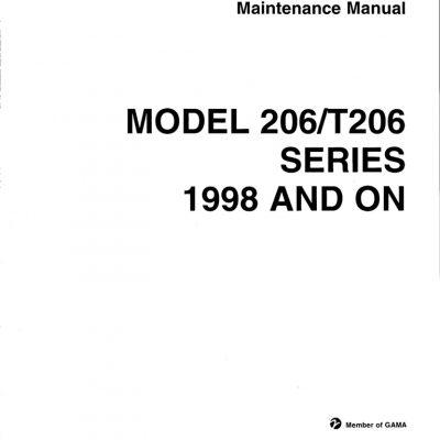 Cessna Model 206 & T206 Series (1974 THRU 1986