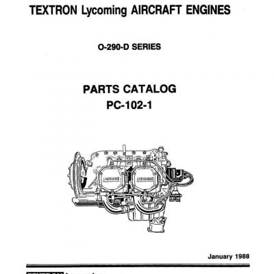 Lycoming Parts Catalog PC-306-1B O-360-A