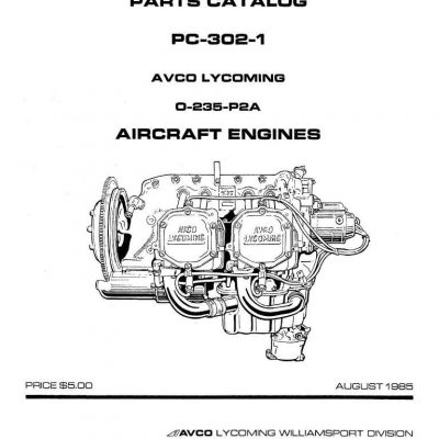 Lycoming O-235-C Series and O-290-D Aviation Engines