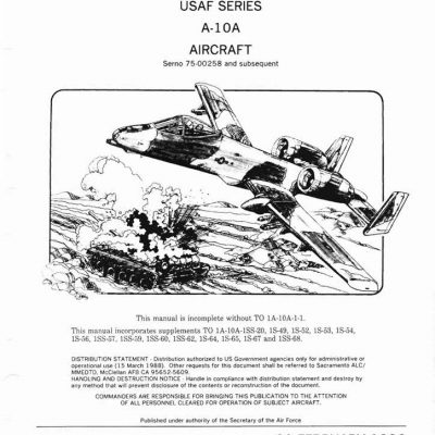 Fairchild Parts & Flight Manual Archives