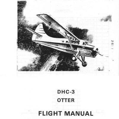 de Havilland Canada DHC-2 Beaver L20A Airplane T.O. 1L-20A