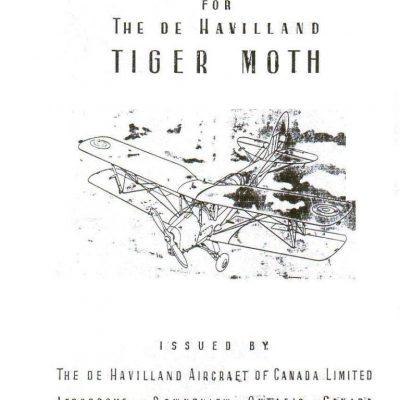 De Havilland Tiger Moth D.H. 82C Spare Parts