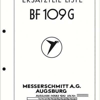 Messerschmitt BF 109 G-2 Flight & Maintenance Manual