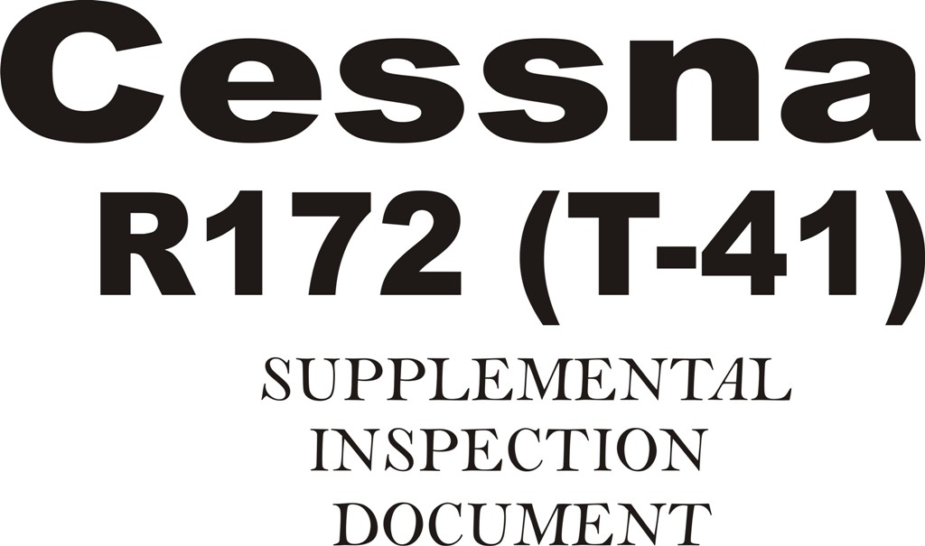 Cessna R172 (T-41) Supplemental Inspection Document