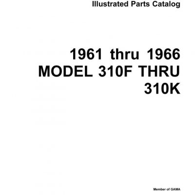 Cessna Model 310R & Turbo 310R Illustrated Parts Catalog