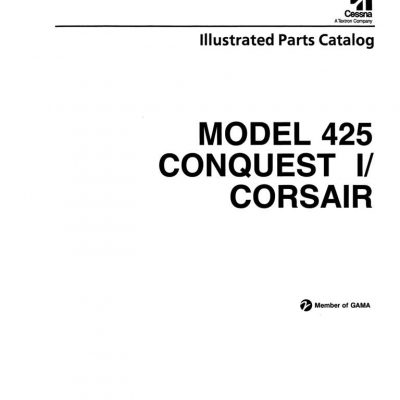 Cessna 421 Series Maintenance & Parts Manuals Archives