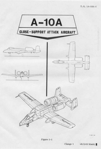 Fairchild Republic A-10 Thunderbolt II Warthog Close