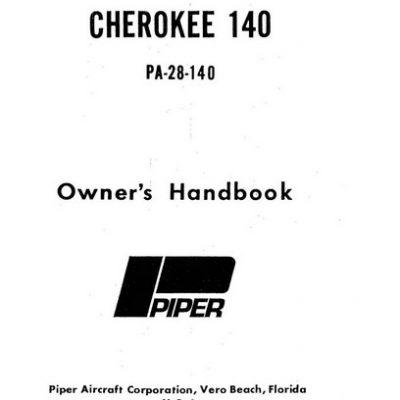 Piper Cherokee 180 F PA-28-180 Owner's Handbook