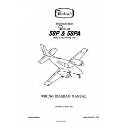 Beechcraft Pressurized Baron 58P & 58PA (Serials TJ-436