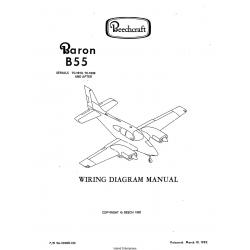 Beechcraft Baron B55 (Serials TC-1913, TC-1936 AND AFTER