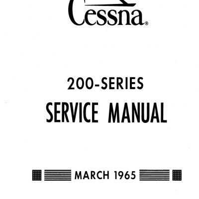 Cessna 200 Series (1965) Service Manual D310-13