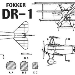 General Aviation Scale Diagram Protein Synthesis With Labels Fokker Dr I Rc Models And Aircraft Scratch Build