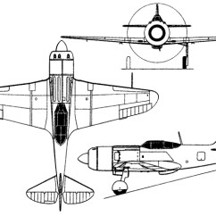 General Aviation Scale Diagram Wiring Rj45 To Rj11 Lavochkin La 7 Rc Models And Aircraft