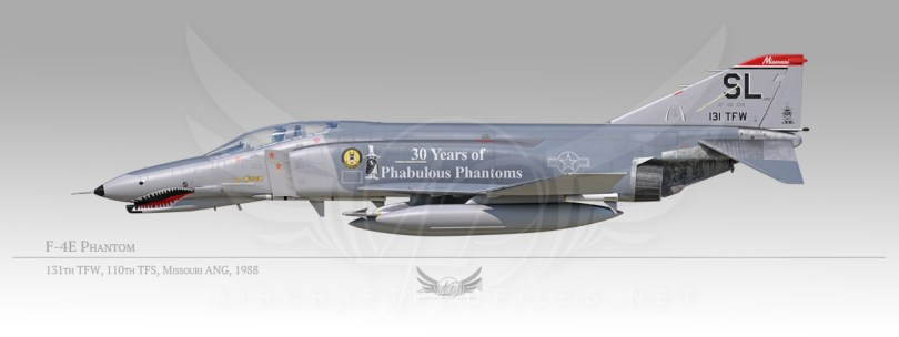 F-4E Phantom, 131st Tactical Fighter Wing, 110th Tactical Fighter Squadron, 1988