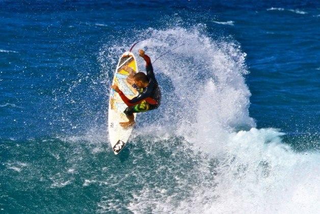 Diego Santos - Rocky point - Hawaii 2014