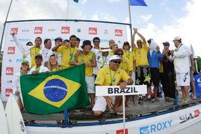 Equipe Brasil Mundial ISA 2006