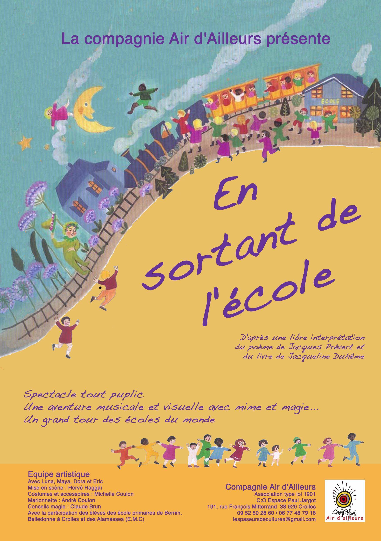 En Sortant De L'école Prévert : sortant, l'école, prévert, Sortant, L'école, Compagnie, D'Ailleurs