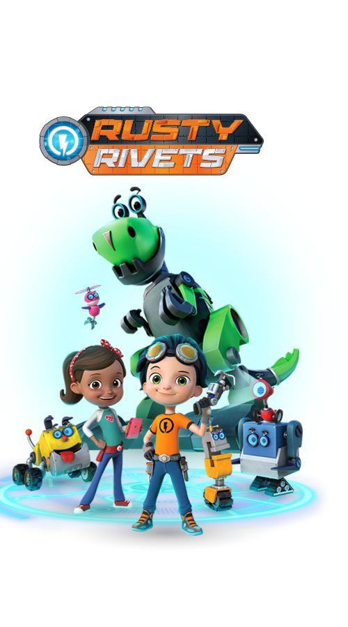 Rusty Rivets Dino Island : rusty, rivets, island, Rusty, Rivets, Season, Animated, Series, AirDate
