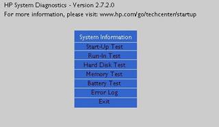 HP System Diagnostics UEFI