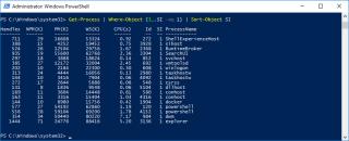 Get Process Hyper-V Host Same SI