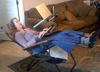 Laptop Desks Tablet Stands for Recliners and More by