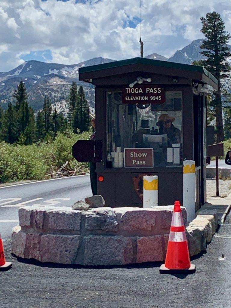Tioga Pass in Yosemite